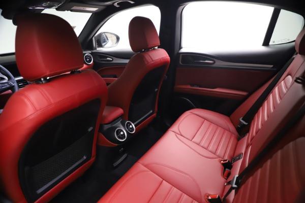 New 2021 Alfa Romeo Stelvio Ti Sport Q4 for sale $57,200 at Maserati of Greenwich in Greenwich CT 06830 18