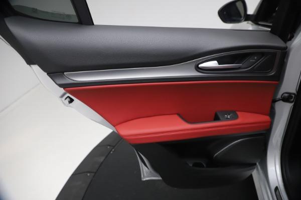 New 2021 Alfa Romeo Stelvio Ti Sport Q4 for sale $57,200 at Maserati of Greenwich in Greenwich CT 06830 20