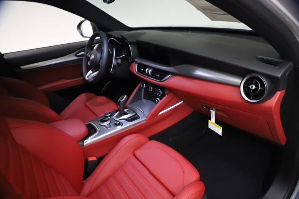 New 2021 Alfa Romeo Stelvio Ti Sport Q4 for sale $57,200 at Maserati of Greenwich in Greenwich CT 06830 21