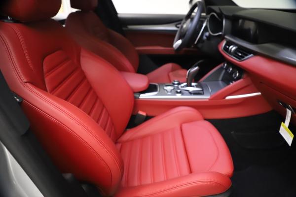 New 2021 Alfa Romeo Stelvio Ti Sport Q4 for sale $57,200 at Maserati of Greenwich in Greenwich CT 06830 22