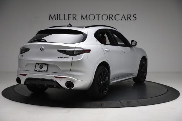 New 2021 Alfa Romeo Stelvio Ti Sport Q4 for sale $57,200 at Maserati of Greenwich in Greenwich CT 06830 7