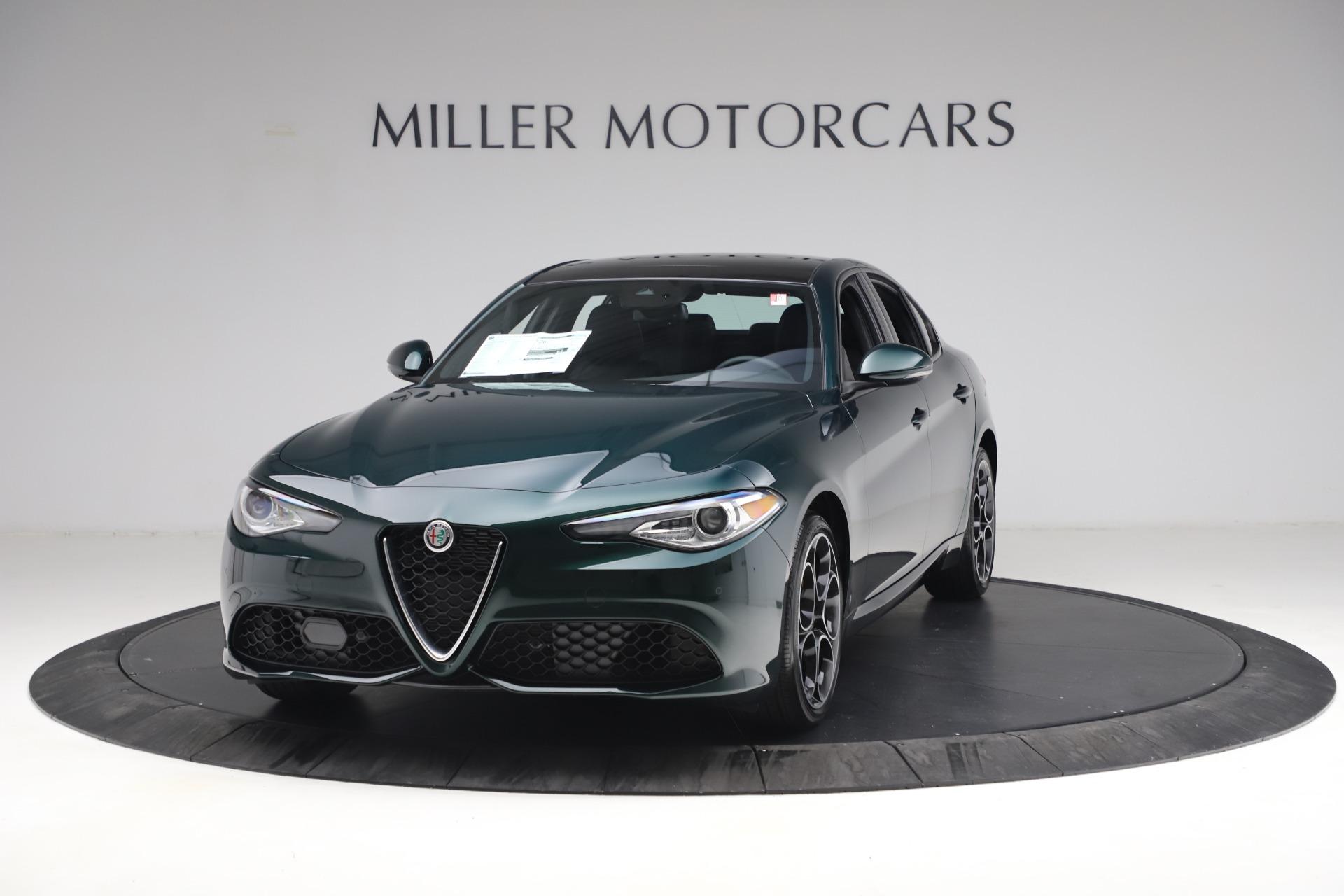 New 2021 Alfa Romeo Giulia Ti Sport Q4 for sale $53,050 at Maserati of Greenwich in Greenwich CT 06830 1