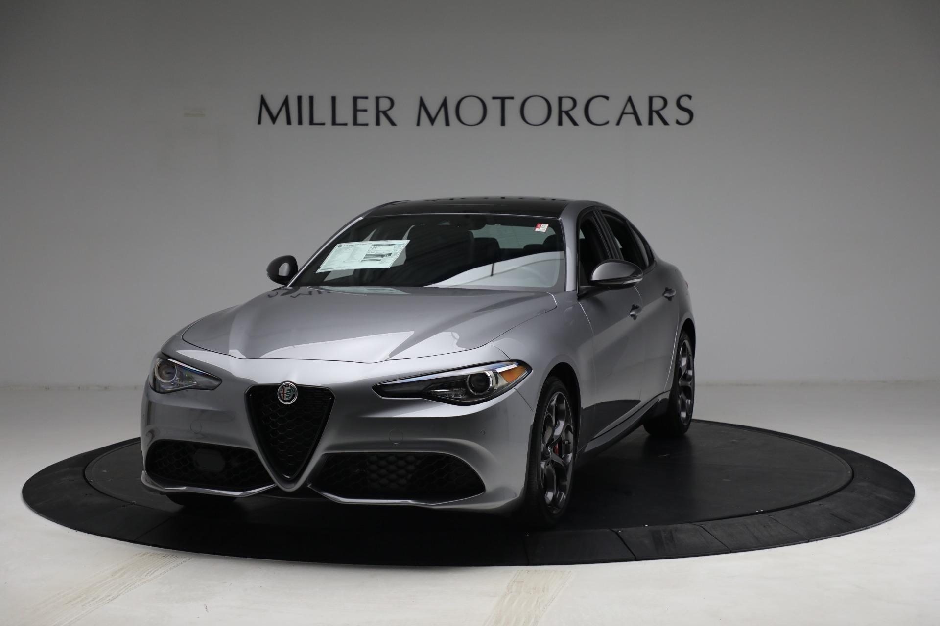 New 2021 Alfa Romeo Giulia Ti Sport Q4 for sale $54,050 at Maserati of Greenwich in Greenwich CT 06830 1