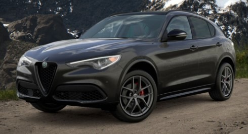 New 2021 Alfa Romeo Stelvio Ti Sport Q4 for sale Call for price at Maserati of Greenwich in Greenwich CT 06830 1