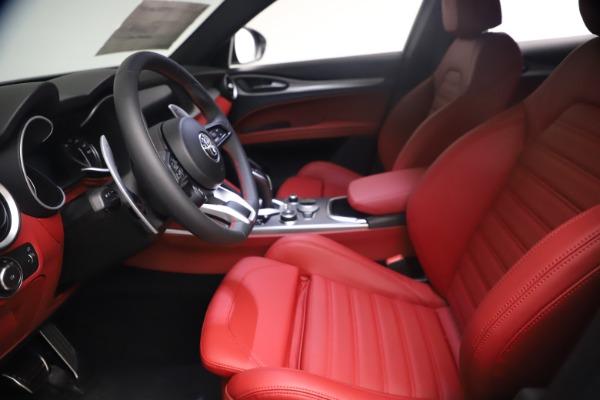 New 2021 Alfa Romeo Stelvio Ti Sport Q4 for sale $54,095 at Maserati of Greenwich in Greenwich CT 06830 15