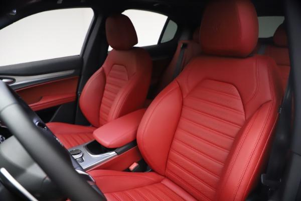 New 2021 Alfa Romeo Stelvio Ti Sport Q4 for sale $54,095 at Maserati of Greenwich in Greenwich CT 06830 16