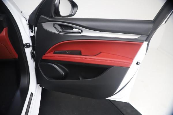 New 2021 Alfa Romeo Stelvio Ti Sport Q4 for sale $54,095 at Maserati of Greenwich in Greenwich CT 06830 24
