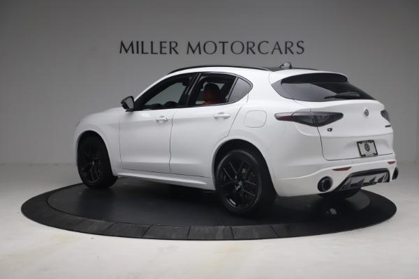 New 2021 Alfa Romeo Stelvio Ti Sport Q4 for sale $54,095 at Maserati of Greenwich in Greenwich CT 06830 5