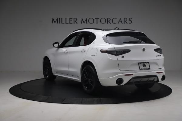 New 2021 Alfa Romeo Stelvio Ti Sport Q4 for sale $54,095 at Maserati of Greenwich in Greenwich CT 06830 6