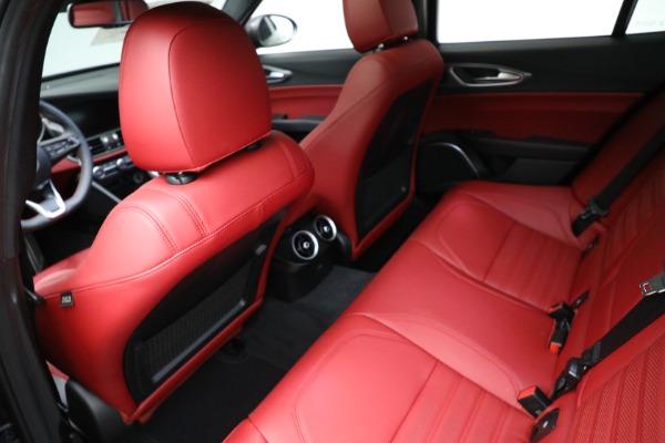 New 2021 Alfa Romeo Giulia Ti Sport Q4 for sale $54,050 at Maserati of Greenwich in Greenwich CT 06830 17