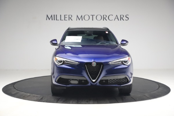 New 2021 Alfa Romeo Stelvio Ti Sport Q4 for sale $55,700 at Maserati of Greenwich in Greenwich CT 06830 12