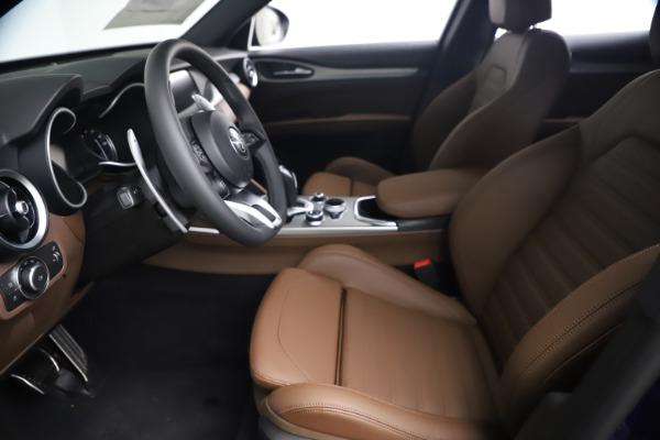 New 2021 Alfa Romeo Stelvio Ti Sport Q4 for sale $55,700 at Maserati of Greenwich in Greenwich CT 06830 13