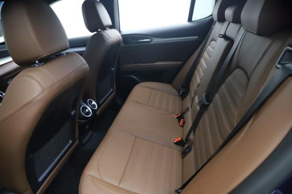 New 2021 Alfa Romeo Stelvio Ti Sport Q4 for sale $55,700 at Maserati of Greenwich in Greenwich CT 06830 17