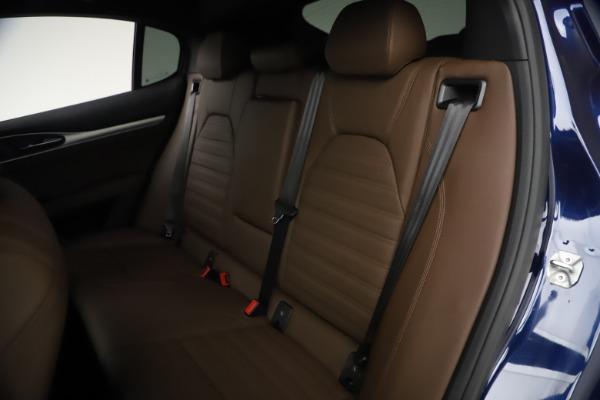 New 2021 Alfa Romeo Stelvio Ti Sport Q4 for sale $55,700 at Maserati of Greenwich in Greenwich CT 06830 18