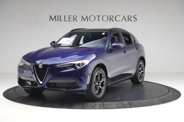 New 2021 Alfa Romeo Stelvio Ti Sport Q4 for sale $55,700 at Maserati of Greenwich in Greenwich CT 06830 2
