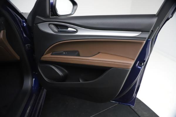 New 2021 Alfa Romeo Stelvio Ti Sport Q4 for sale $55,700 at Maserati of Greenwich in Greenwich CT 06830 22