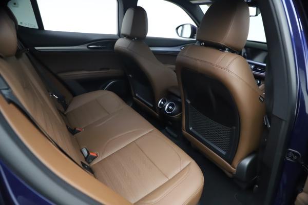 New 2021 Alfa Romeo Stelvio Ti Sport Q4 for sale $55,700 at Maserati of Greenwich in Greenwich CT 06830 23
