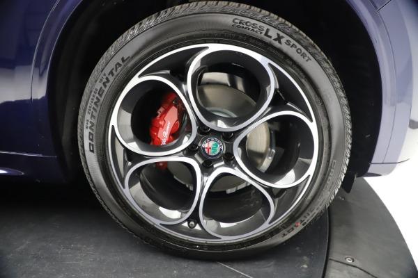 New 2021 Alfa Romeo Stelvio Ti Sport Q4 for sale $55,700 at Maserati of Greenwich in Greenwich CT 06830 26