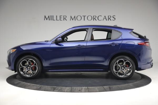 New 2021 Alfa Romeo Stelvio Ti Sport Q4 for sale $55,700 at Maserati of Greenwich in Greenwich CT 06830 3