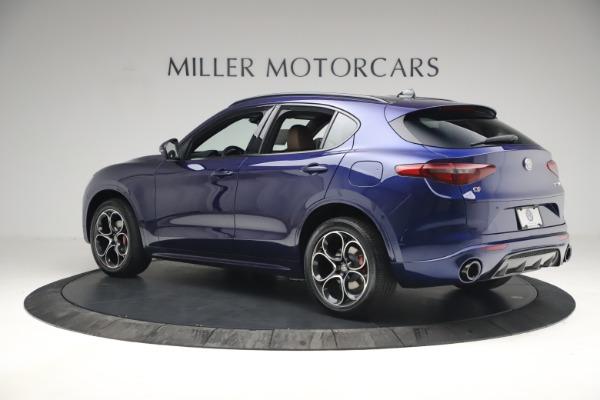 New 2021 Alfa Romeo Stelvio Ti Sport Q4 for sale $55,700 at Maserati of Greenwich in Greenwich CT 06830 4