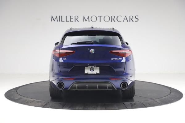 New 2021 Alfa Romeo Stelvio Ti Sport Q4 for sale $55,700 at Maserati of Greenwich in Greenwich CT 06830 6