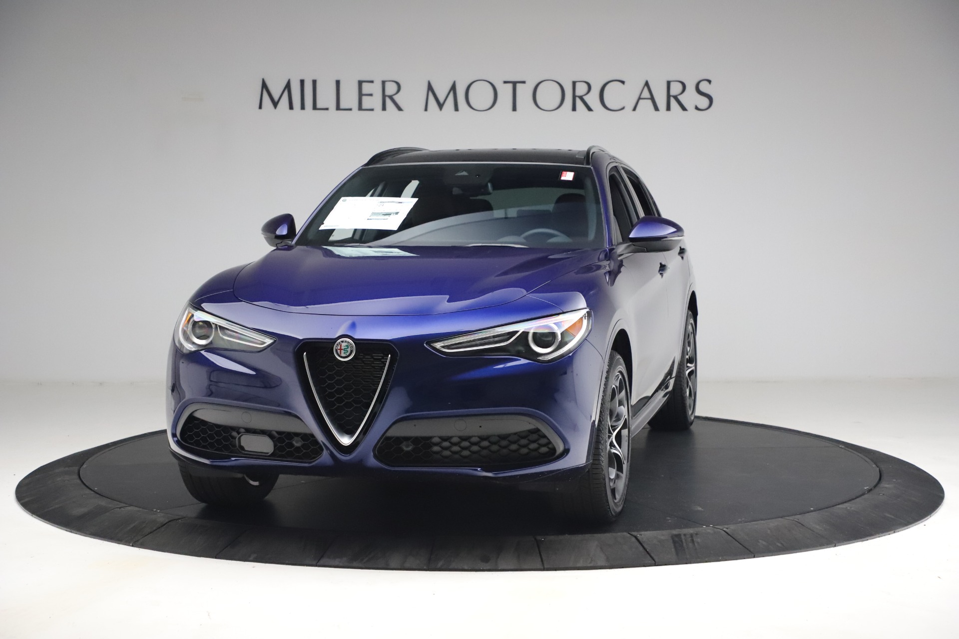 New 2021 Alfa Romeo Stelvio Ti Sport Q4 for sale $55,700 at Maserati of Greenwich in Greenwich CT 06830 1