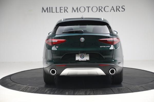 New 2021 Alfa Romeo Stelvio Q4 for sale $50,445 at Maserati of Greenwich in Greenwich CT 06830 6