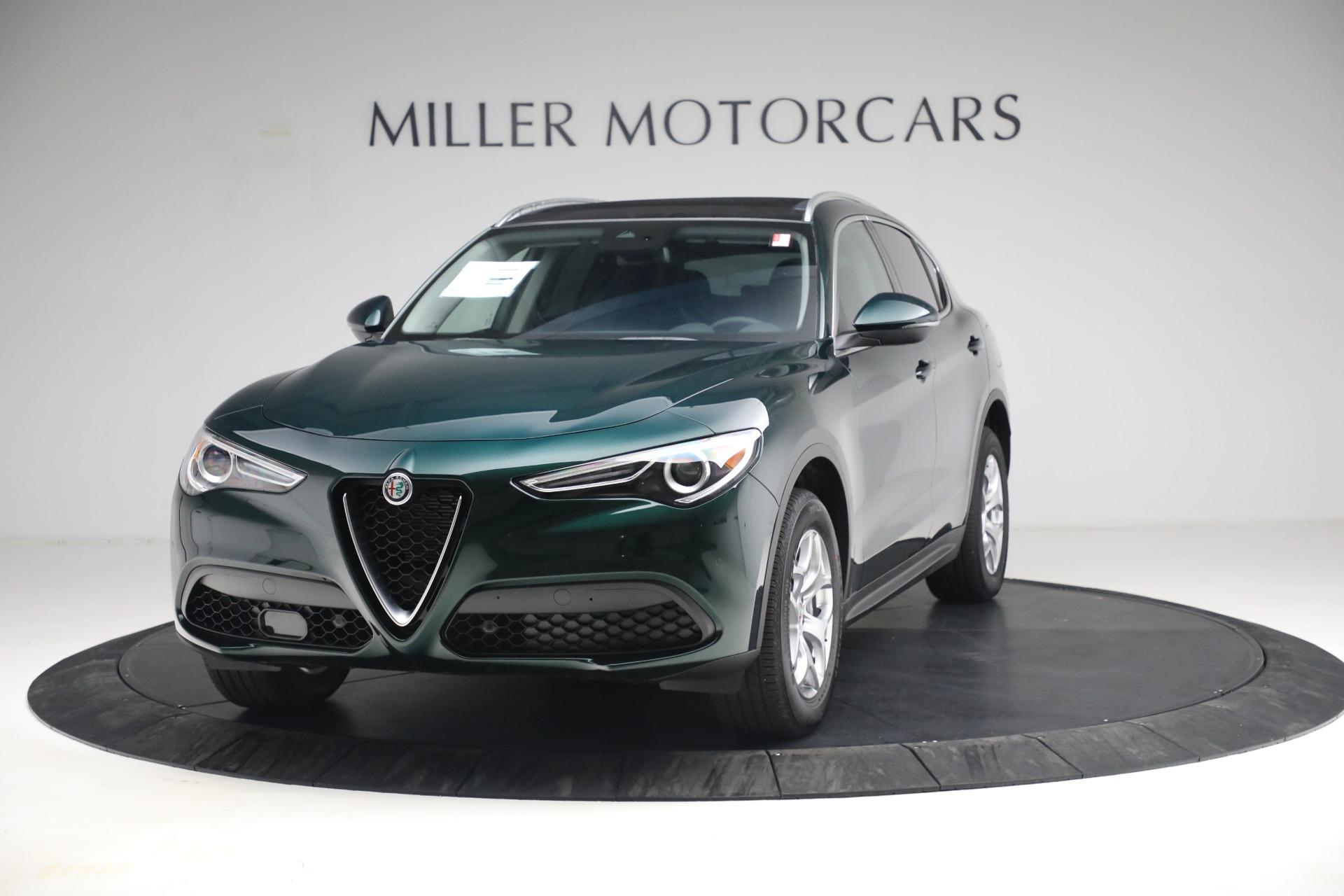 New 2021 Alfa Romeo Stelvio Q4 for sale $50,445 at Maserati of Greenwich in Greenwich CT 06830 1