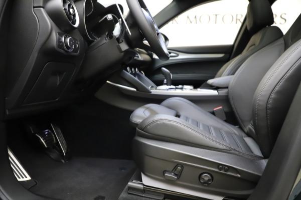 New 2021 Alfa Romeo Stelvio Ti Sport Q4 for sale $57,200 at Maserati of Greenwich in Greenwich CT 06830 15