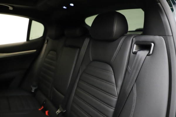 New 2021 Alfa Romeo Stelvio Ti Sport Q4 for sale $57,200 at Maserati of Greenwich in Greenwich CT 06830 19