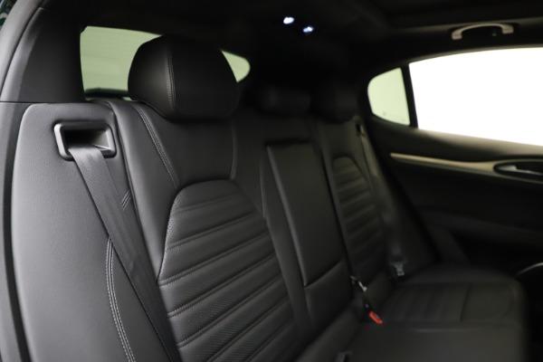 New 2021 Alfa Romeo Stelvio Ti Sport Q4 for sale $57,200 at Maserati of Greenwich in Greenwich CT 06830 27