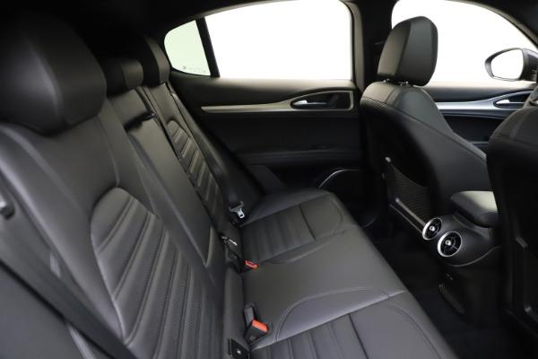 New 2021 Alfa Romeo Stelvio Ti Sport Q4 for sale $57,200 at Maserati of Greenwich in Greenwich CT 06830 28