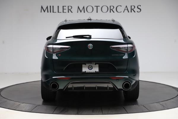 New 2021 Alfa Romeo Stelvio Ti Sport Q4 for sale $57,200 at Maserati of Greenwich in Greenwich CT 06830 6