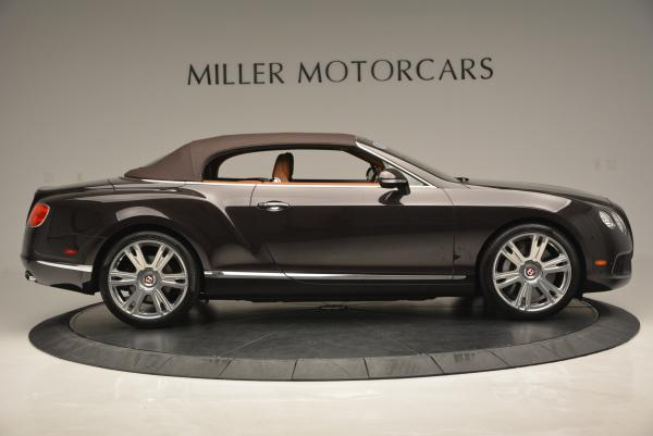 Used 2013 Bentley Continental GTC V8 for sale Sold at Maserati of Greenwich in Greenwich CT 06830 22