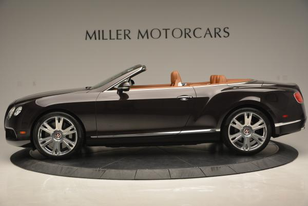 Used 2013 Bentley Continental GTC V8 for sale Sold at Maserati of Greenwich in Greenwich CT 06830 3
