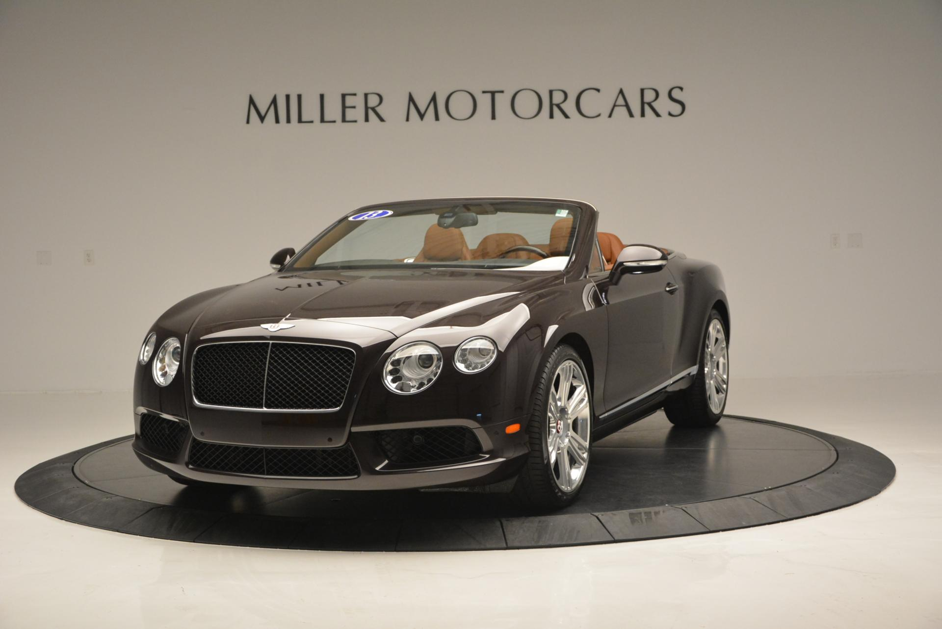 Used 2013 Bentley Continental GTC V8 for sale Sold at Maserati of Greenwich in Greenwich CT 06830 1