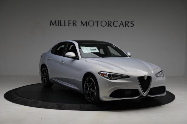 New 2021 Alfa Romeo Giulia Ti Sport Q4 for sale $53,050 at Maserati of Greenwich in Greenwich CT 06830 10