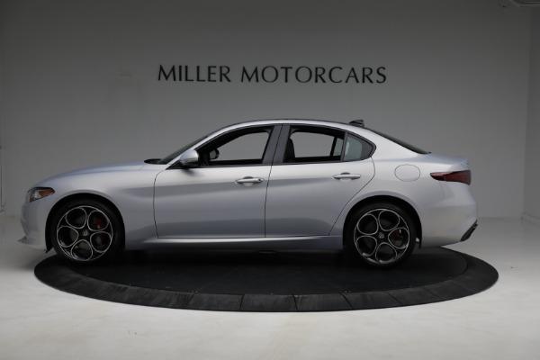 New 2021 Alfa Romeo Giulia Ti Sport Q4 for sale $53,050 at Maserati of Greenwich in Greenwich CT 06830 2