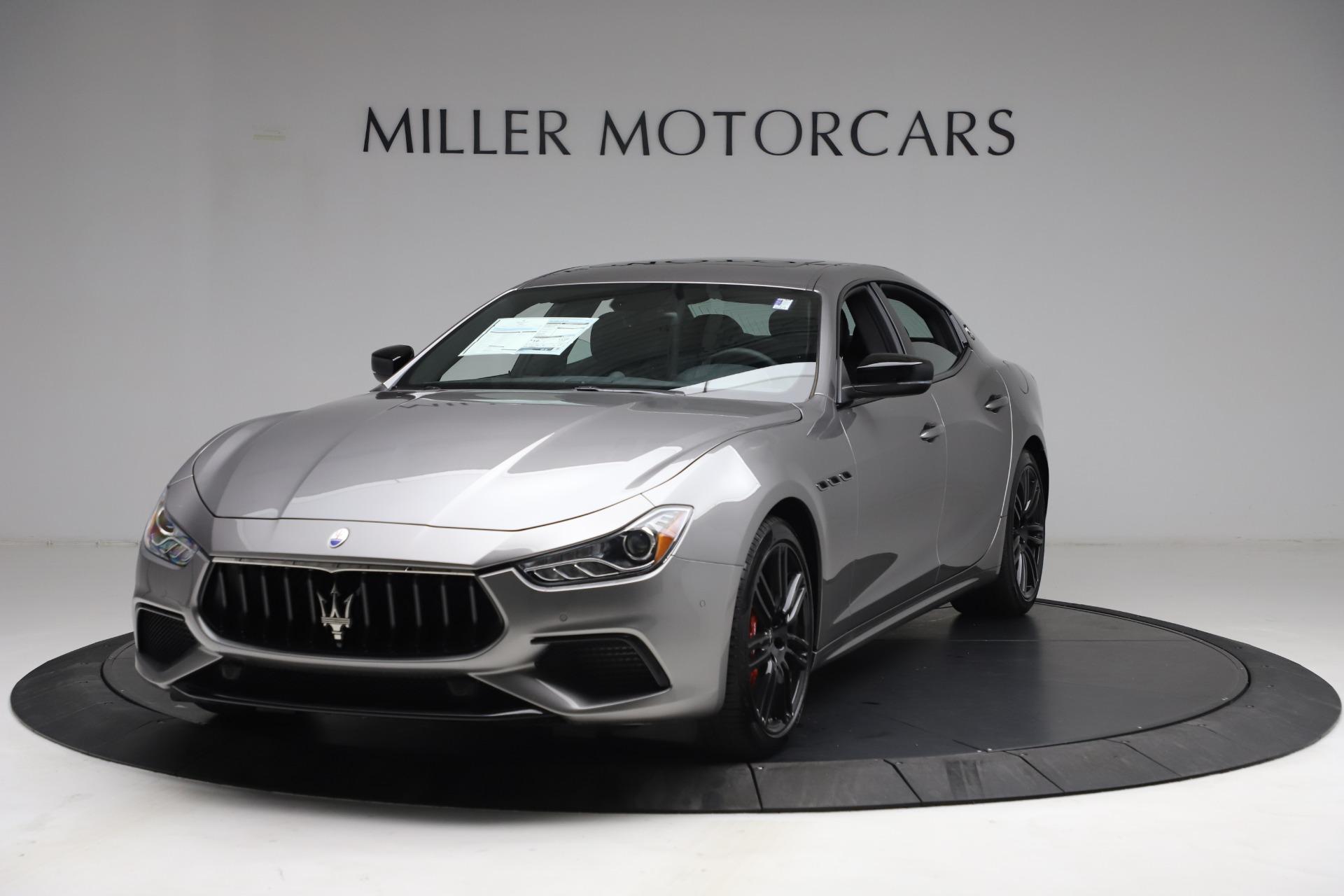 New 2021 Maserati Ghibli S Q4 for sale Sold at Maserati of Greenwich in Greenwich CT 06830 1
