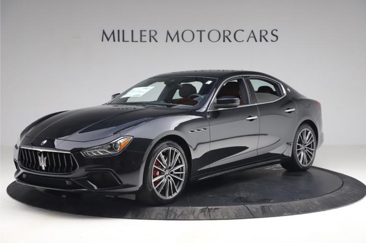New 2021 Maserati Ghibli S Q4 for sale $89,775 at Maserati of Greenwich in Greenwich CT 06830 1