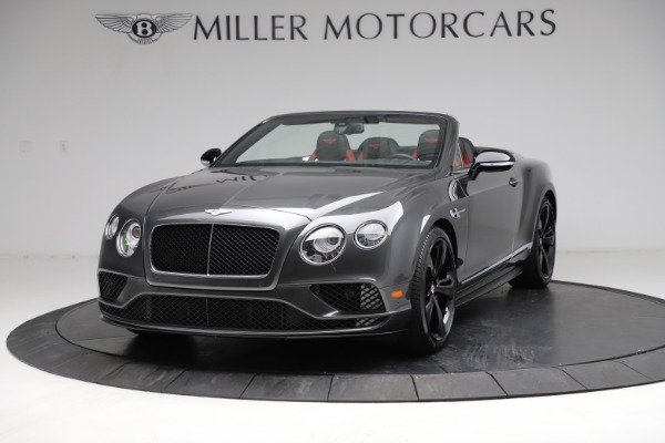 Used 2017 Bentley Continental GT V8 S for sale Call for price at Maserati of Greenwich in Greenwich CT 06830 1