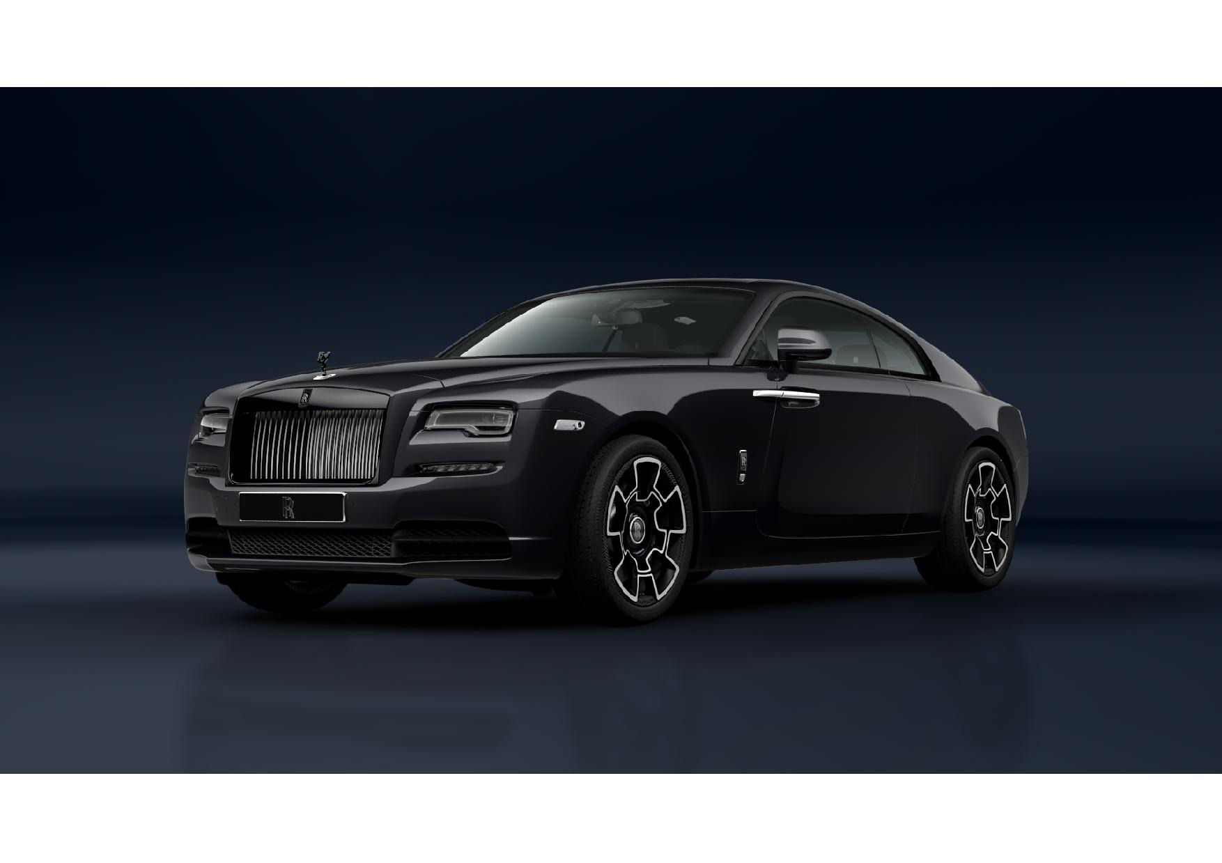 New 2021 Rolls-Royce Wraith Black Badge for sale Call for price at Maserati of Greenwich in Greenwich CT 06830 1