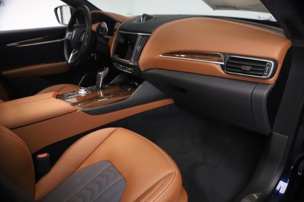 New 2021 Maserati Levante Q4 GranLusso for sale $93,385 at Maserati of Greenwich in Greenwich CT 06830 21