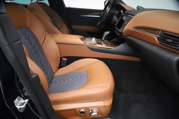 New 2021 Maserati Levante Q4 GranLusso for sale $93,385 at Maserati of Greenwich in Greenwich CT 06830 22