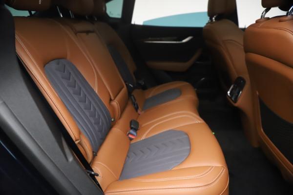 New 2021 Maserati Levante Q4 GranLusso for sale $93,385 at Maserati of Greenwich in Greenwich CT 06830 24