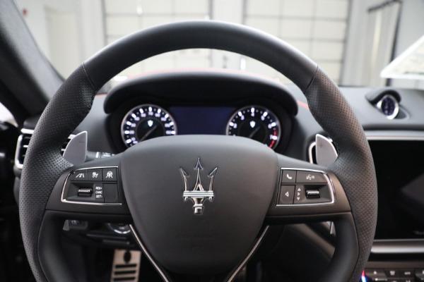 New 2021 Maserati Ghibli S Q4 GranSport for sale $100,635 at Maserati of Greenwich in Greenwich CT 06830 16