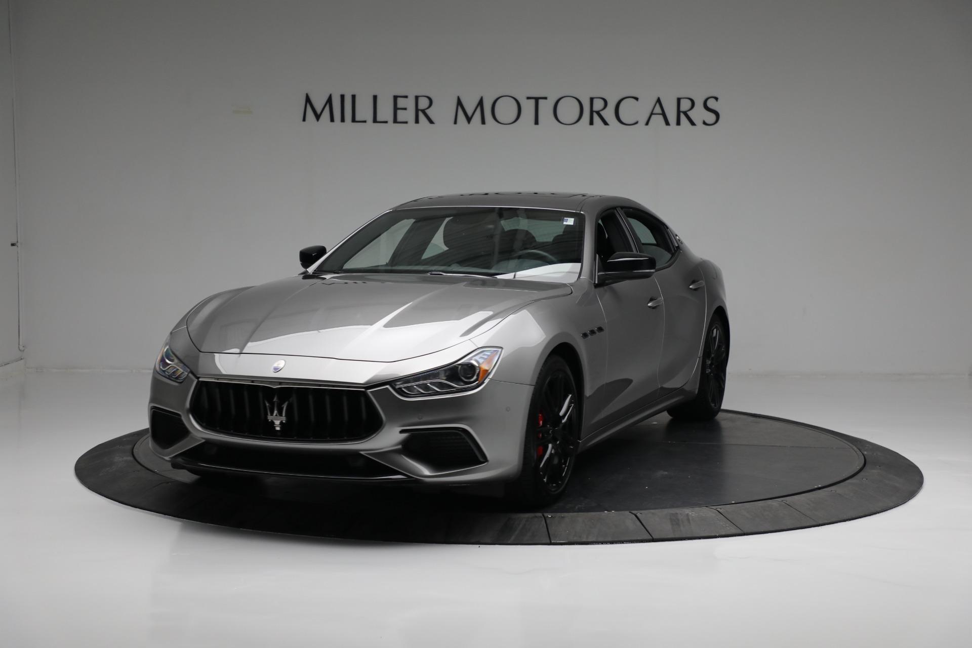 New 2021 Maserati Ghibli S Q4 for sale $90,075 at Maserati of Greenwich in Greenwich CT 06830 1