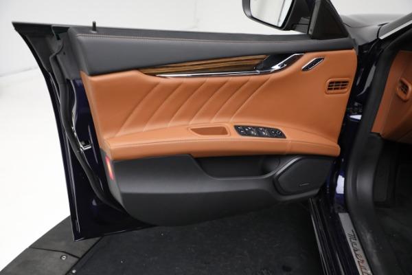 New 2021 Maserati Quattroporte S Q4 GranLusso for sale Call for price at Maserati of Greenwich in Greenwich CT 06830 17