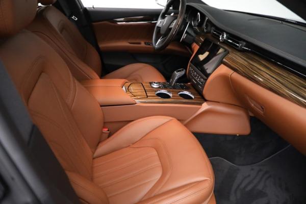 New 2021 Maserati Quattroporte S Q4 GranLusso for sale Call for price at Maserati of Greenwich in Greenwich CT 06830 23