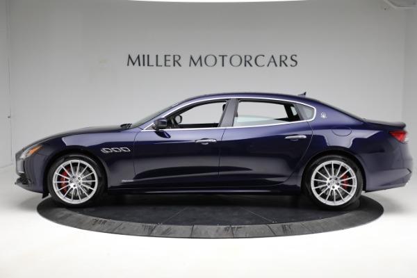 New 2021 Maserati Quattroporte S Q4 GranLusso for sale Call for price at Maserati of Greenwich in Greenwich CT 06830 3